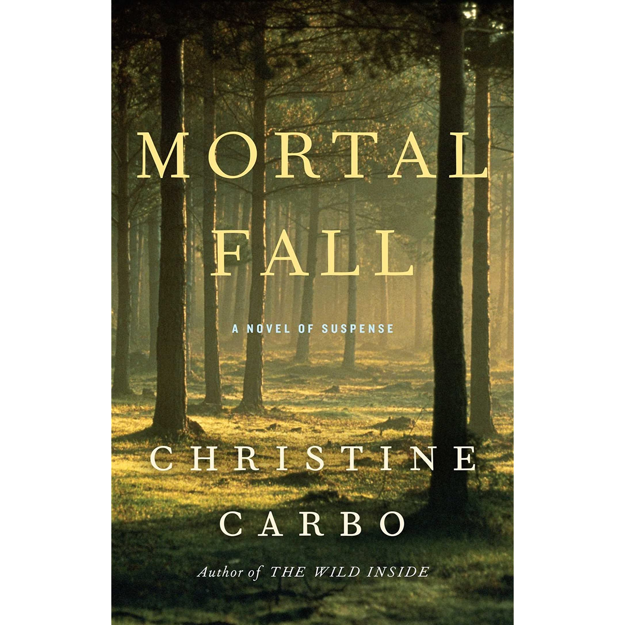 Mortal Fall (glacier Mystery #2) By Christine Carbo €� Reviews, Discussion,  Bookclubs, Lists