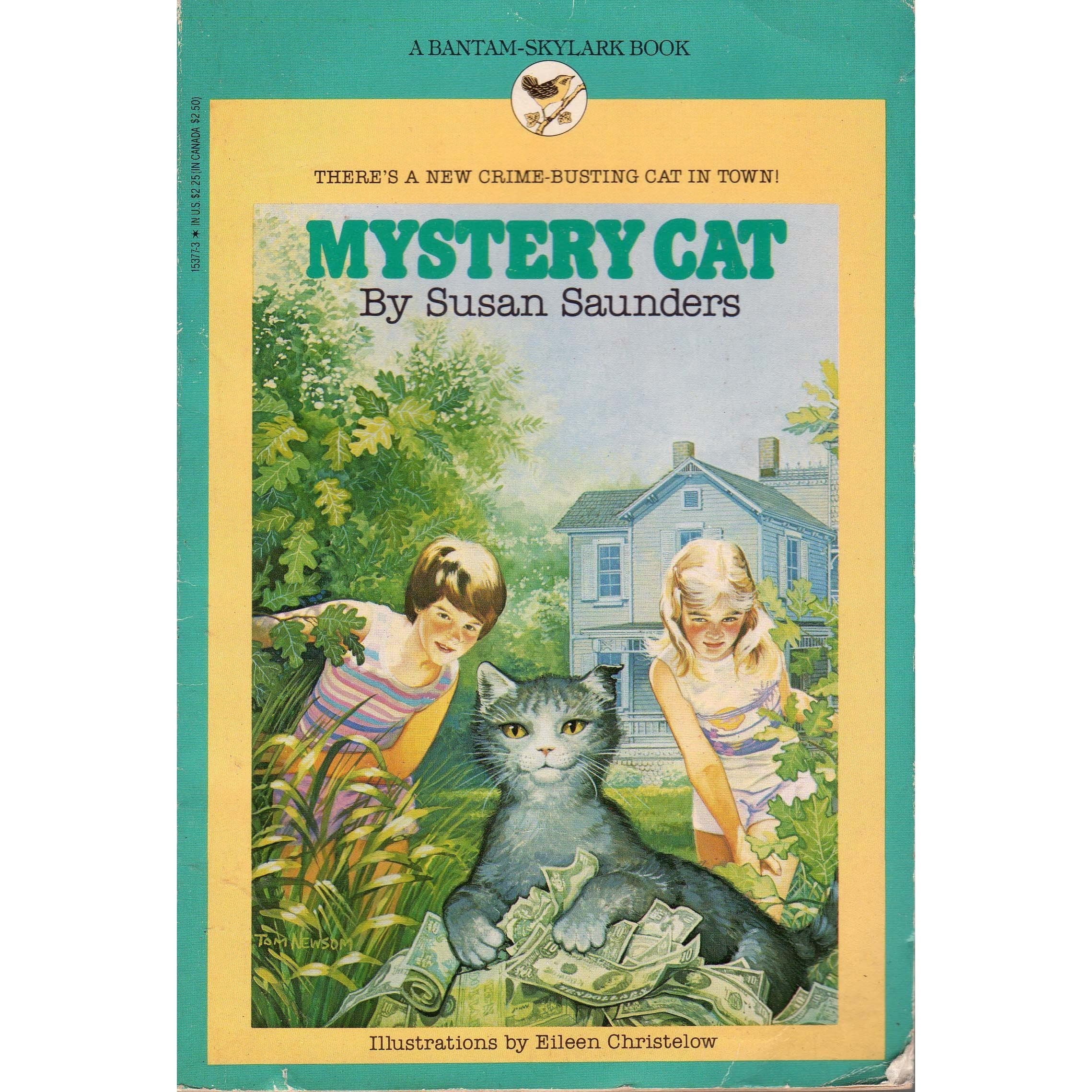Mystery Cat By Susan Saunders