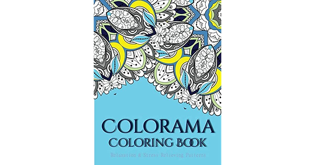 Colorama Coloring Book Books For Grown Ups By V Art