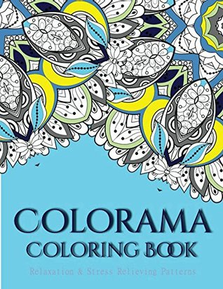 Finally done! Book : Colorama Coloring book Colored with ...   412x318