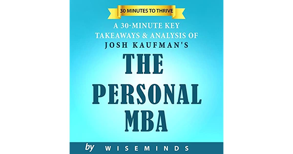 Summary, Key Takeaways & Analysis of The Personal MBA by