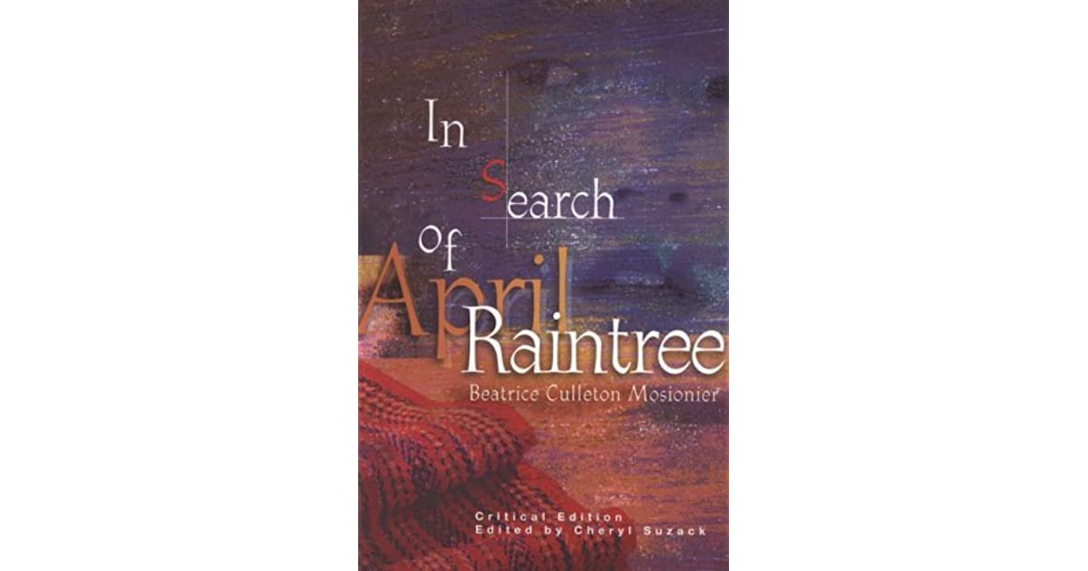 In Search of April Raintree - Critical Edition