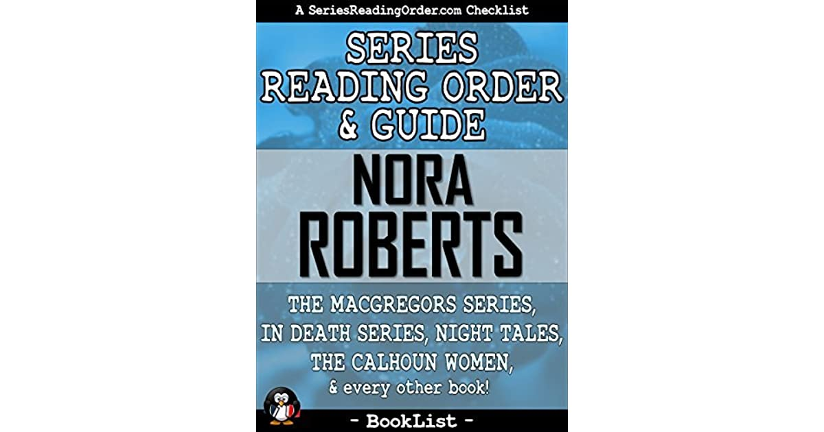 Nora Roberts Series Reading Order  Guide The Macgregors -8395