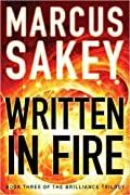 Written in Fire (Brilliance Saga, #3)