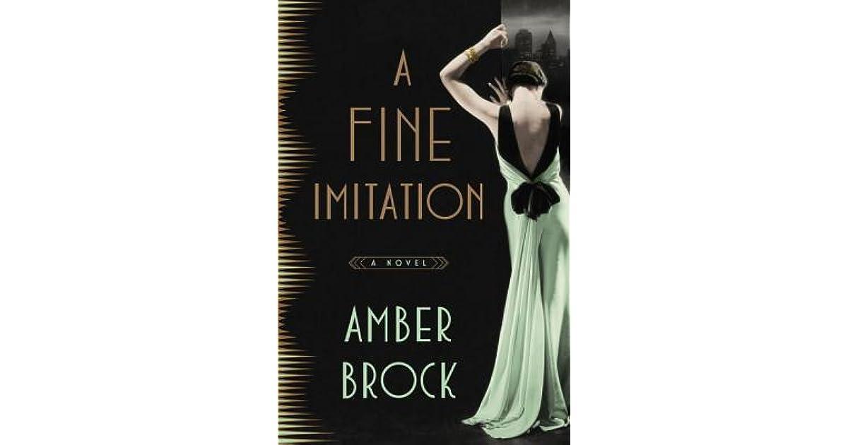 A Fine Imitation by Amber Brock