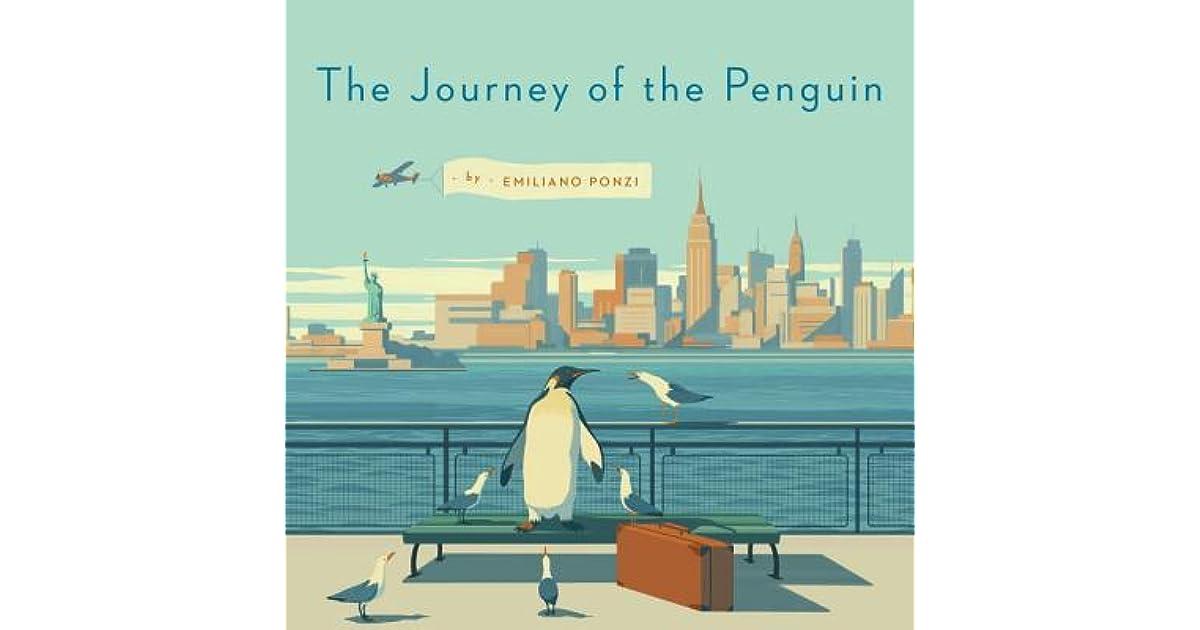 Nyc Subway Map Author Emiliano Ponzi.The Journey Of The Penguin By Emiliano Ponzi