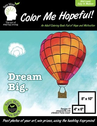 Color Me Hopeful A Coloring Book For Adults Full Of Hope