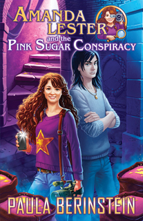 Amanda Lester and the Pink Sugar Conspiracy (Amanda Lester, Detective, #1)