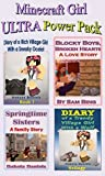 Minecraft Girl ULTRA Power Pack: 7 Unofficial Books (Blocky Boys, Broken Hearts; Diary of a Trendy Village Girl Books 1, 2 & 3; Diary of a Rich Village Girl 1; Blocky Little Women; Creepy Halloween)