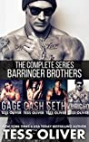 The Barringer Brothers Box Set: Complete Series (The Barringer Brothers, #1-4)