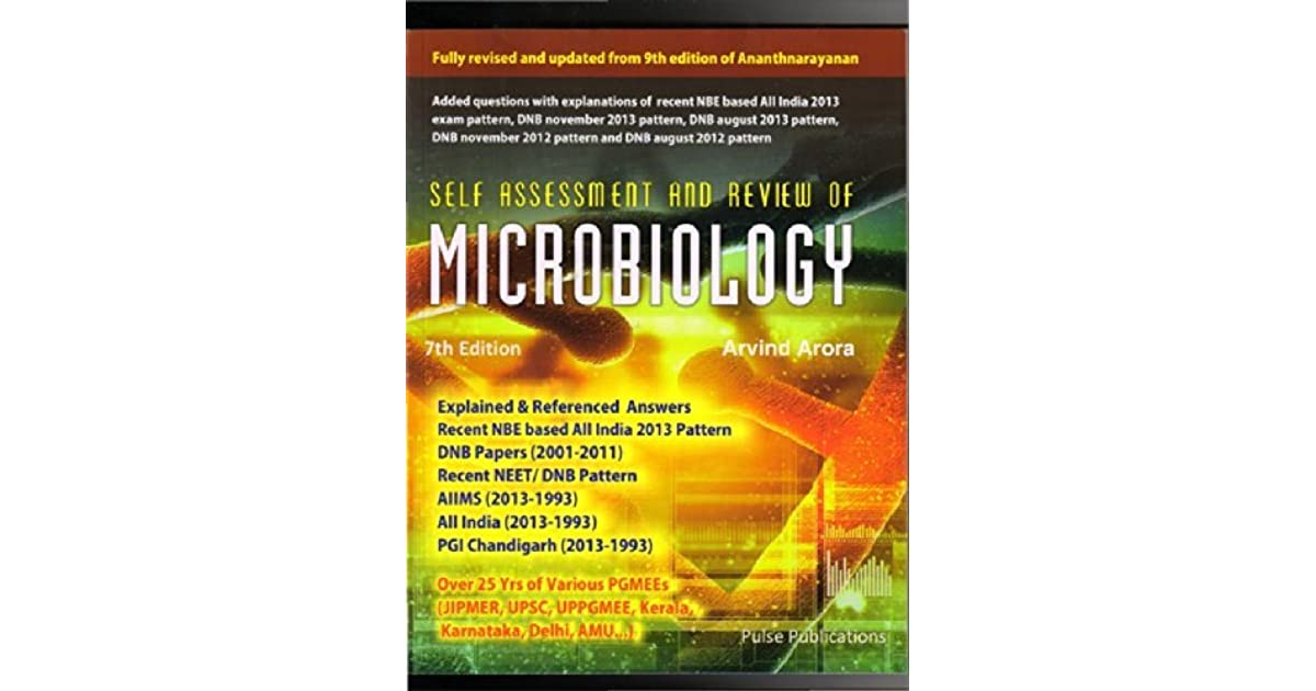 Self Assessment and Review of Microbiology by Arvind Arora