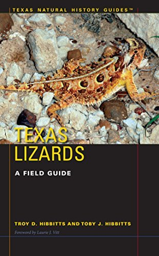 Texas Lizards A Field Guide (Texas Natural History Guides)