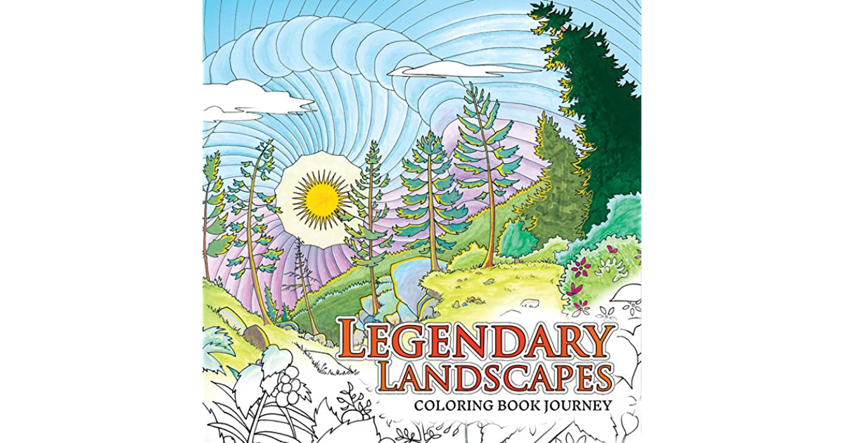 Legendary Landscapes Coloring Book Journey By Witek Radomski