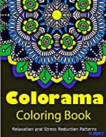 Colorama Coloring Book Adult Stress Relieving Patterns