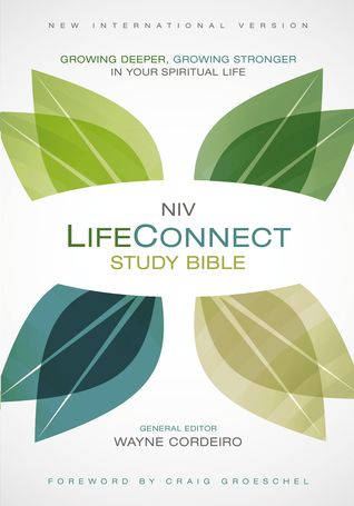 NIV, LifeConnect Study Bible, Hardcover, Red Letter Edition: Growing Deeper, Growing Stronger in Your Spiritual Life