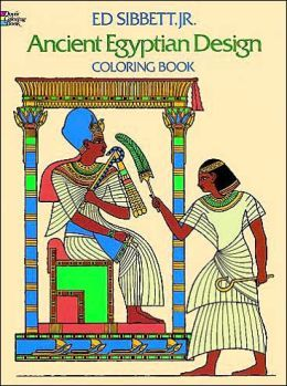 sibbett e ancient egyptian design coloring book