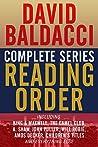 David Baldacci Complete Series Reading Order