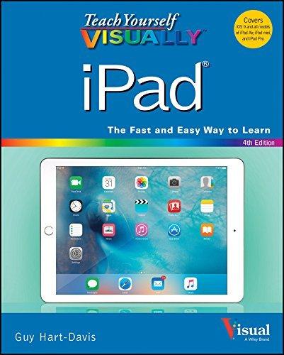 Teach Yourself VISUALLY iPad Cov