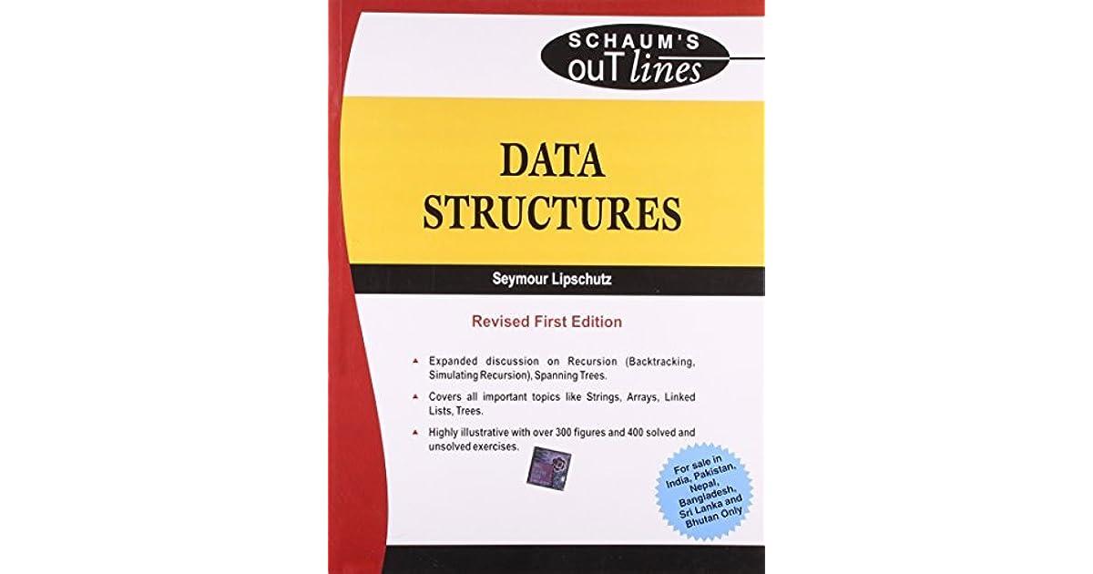 Schaums Outline Data Structures Seymour Lipschutz Pdf