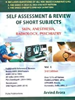 Self Assessment & Review of Short Subjects, Vol. 1: Skin, Anesthesia, Radiology, Psychiatry