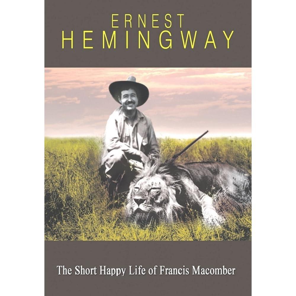 the short happy life of francis macomber story pdf