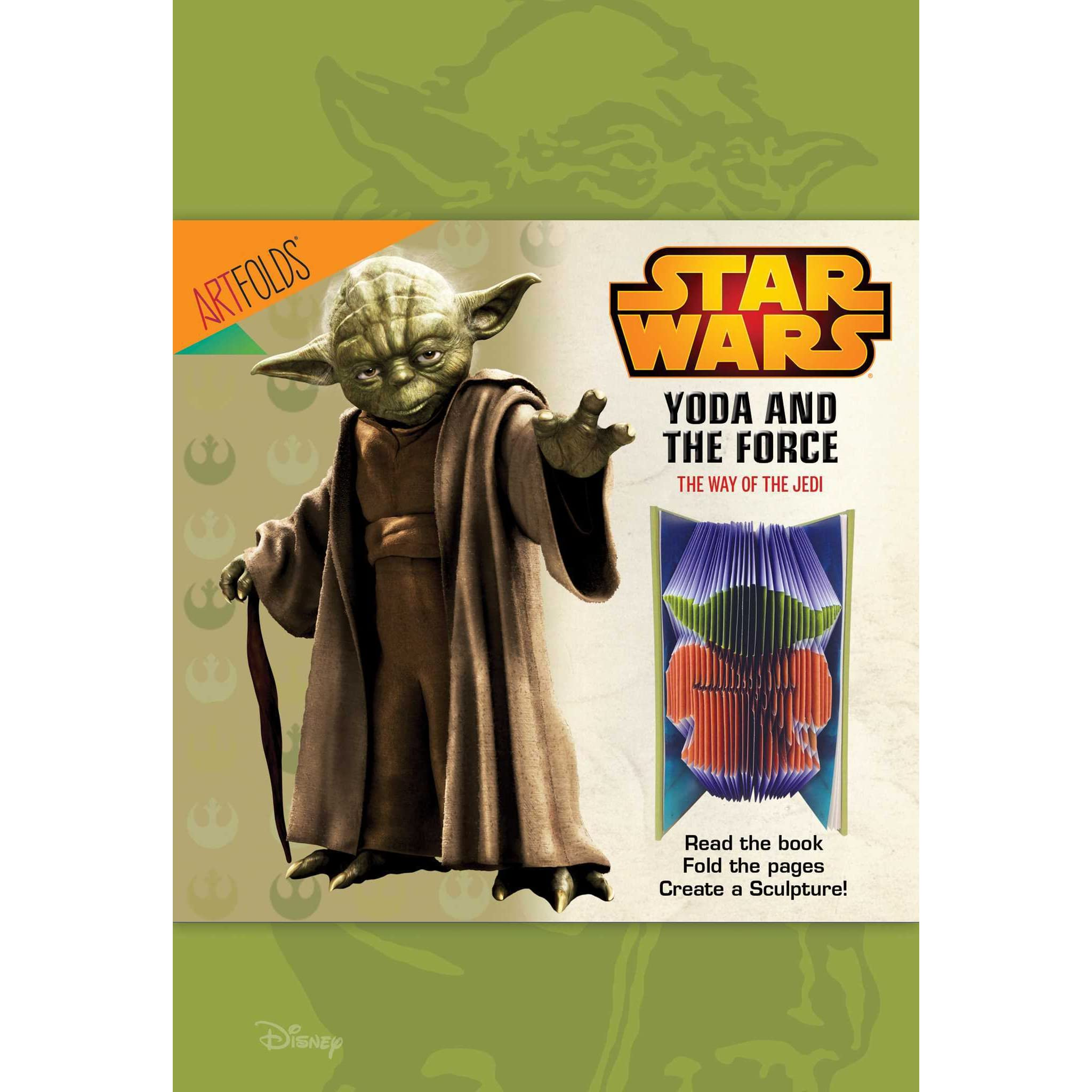 Artfolds Yoda Yoda And The Force By Readers Digest Association