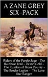 Riders of the Purple Sage: A Zane Grey Six-Pack (Six Western Books)