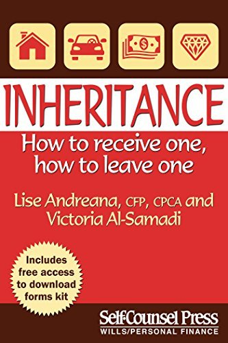Inheritance How to receive one; how to leave one (Legal Series)