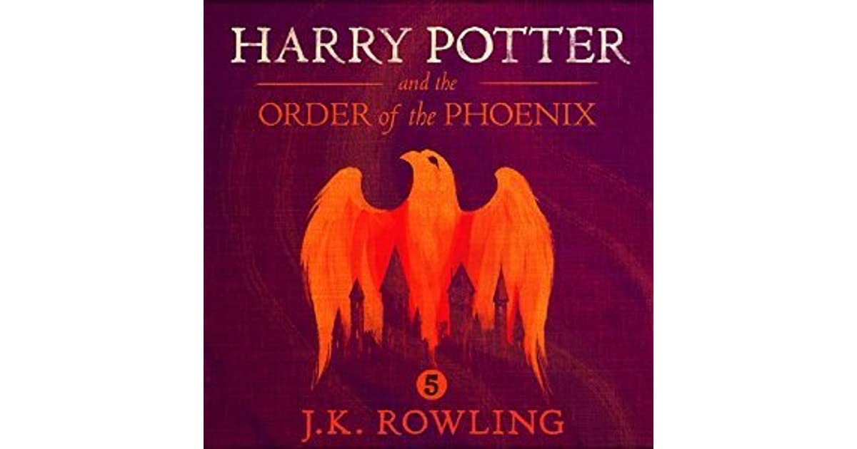 Harry Potter Book Goodreads ~ Harry potter and the order of phoenix by j k rowling