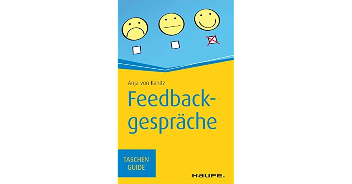 ... Feedbackgesprache Taschenguide By Anja Von Kanitz ...