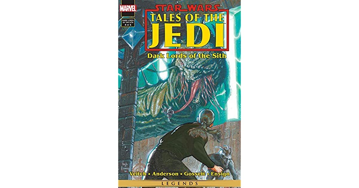 Star Wars Tales Of The Jedi Dark Lords Of The Sith 4 Death Of A