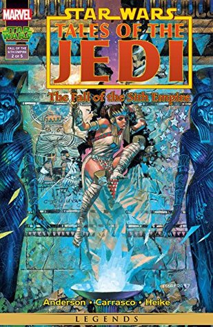 Star Wars: Tales of the Jedi - The Fall of the Sith Empire (1997) #2 (of 5) Kevin J. Anderson, Dario Carrasco, Duncan Fegredo