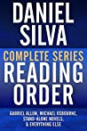 Daniel Silva Complete Series Reading Order