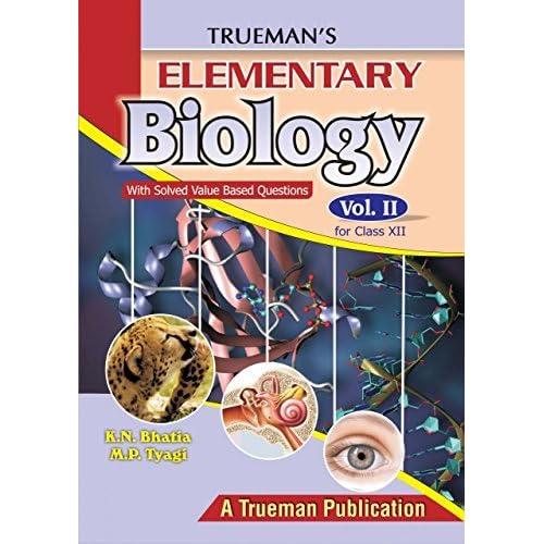 Truemans Elementary Biology Pdf