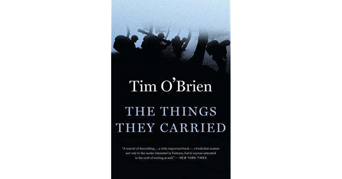 review tim obriens the things they carried The things they carried certainly qualifies, and so, in its modest way, does the vietnam in me, an essay by o'brien included as a bonus, read by the author himself.
