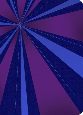 RVR 1960 Biblia Compacta Letra Grande, rayos de azul/violeta símil piel