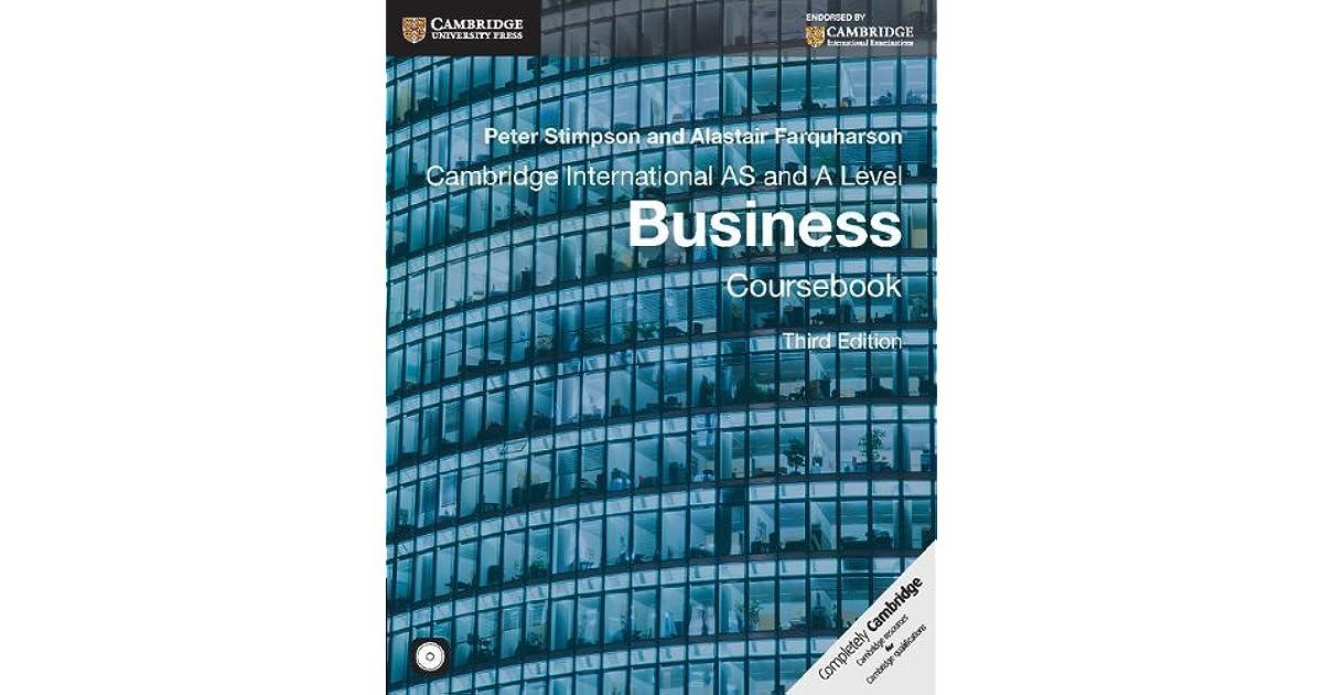 Peter Stimpson Business Studies Ebook