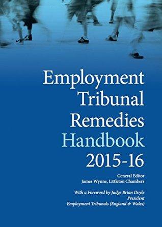 Employment Tribunal Remedies Handbook 2015-16