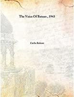 The Voice Of Bataan 1943 [Hardcover]