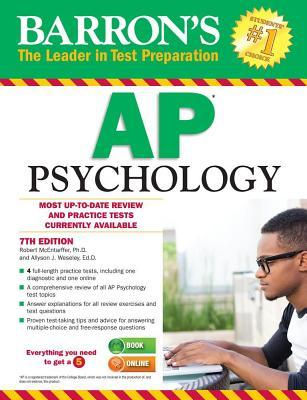 Barrons AP Psychology- 7th Edition