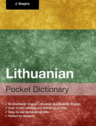 Lithuanian Pocket Dictionary