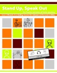 Stand Up, Speak Out - The Practice and Ethics of Public Speaking (1)