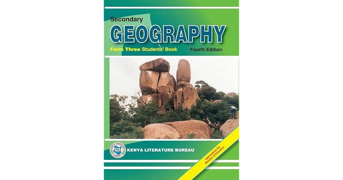 KLB Geography: SHS