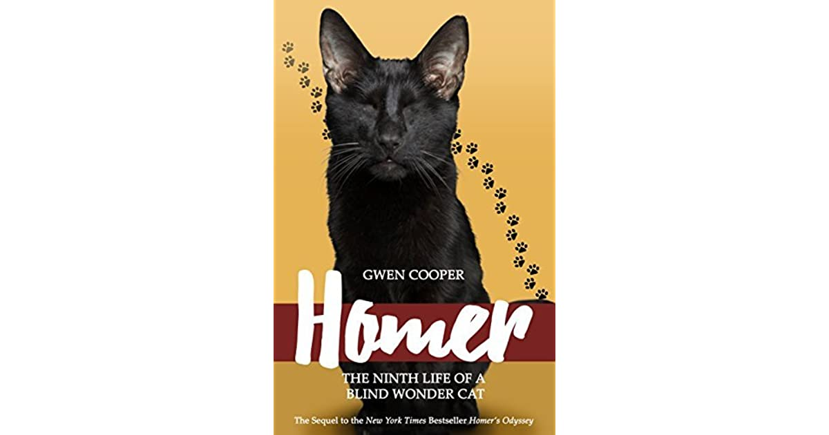 Enjoyable Homer The Ninth Life Of A Blind Wonder Cat By Gwen Cooper Download Free Architecture Designs Itiscsunscenecom