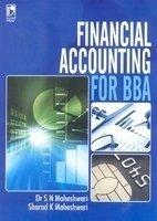 Financial Accounting for Bba by S N  Maheshwari