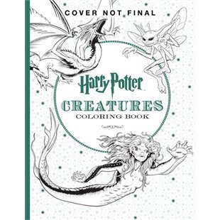 Harry Potter: The Official Coloring Book #2 Creatures by ...