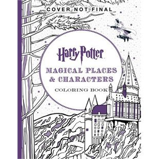 Harry Potter Colouring Book #3 Magical Places & Characters ...