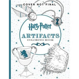 Harry Potter Colouring Book #4 Artifacts by Scholastic Inc.