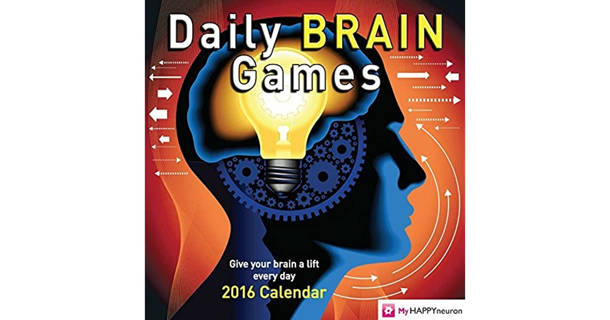 Daily Brain Games 2016 Day-to-Day Calendar by HAPPYneuron