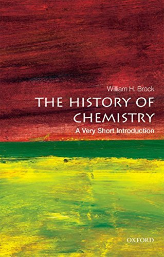 The History of Chemistry A Very Short Introduction (Very Short Introductions)